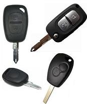 Renault Anahtarlara Uyumlu Kumanda Kapları