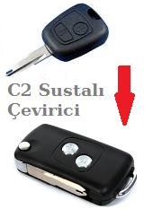 Citroen C2 Sustalı Anahtar Çevirici