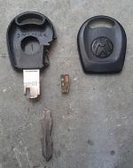 Kırılmış İmmobilizer Anahtar