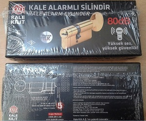Kale Kilit Alarmlı Silindir