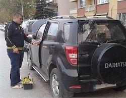 Daihatsu Terios Araç Kapısı Açma Çilingir Hizmeti