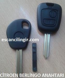 Citroen Berlingo Anahtarı