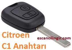 Citroen C1 Anahtarı