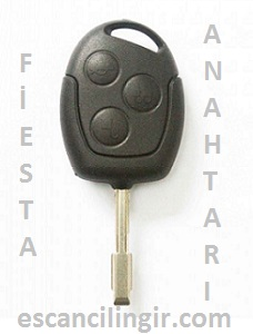 Ford Fiesta Kumandalı Anahtar