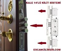 Kale 14''lü Kilit Sistemi