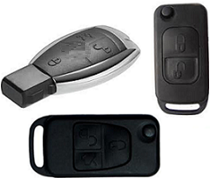 Mercedes Anahtar Uyumlu Kumanda Kapları