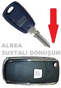Fiat Albea Sustalı Anahtar Dönüşüm Kabı