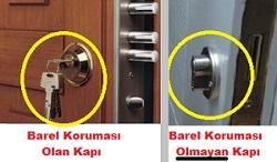 Çelik Kapılarda Kilit Sistemi