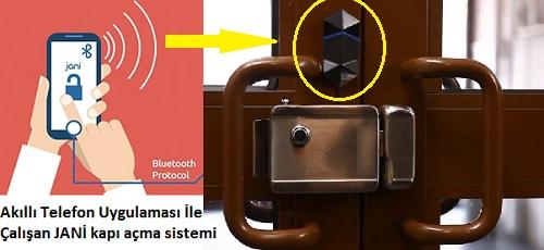 Bluetooth ile Çalışan JANİ kapı açma cihazı