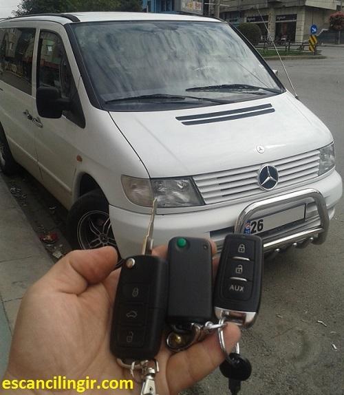 Mercedes Vito Yedek Kontak Anahtarı