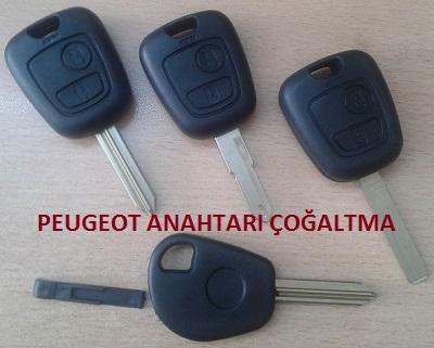 Peugeot Anahtarı Çoğaltma