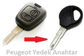 Peugeot 206 Kontak Anahtarı