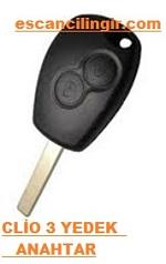 Renault Clio 3 İmmobilizer Anahtar Çoğaltma