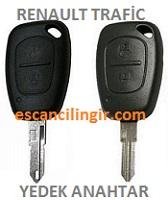 Renault Trafic Kumandalı Kontak Anahtarı
